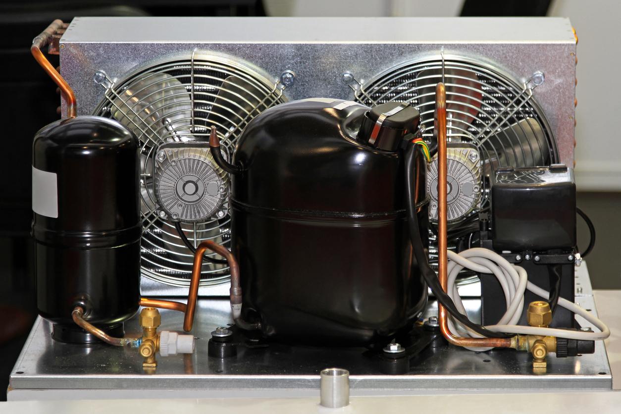 refrigerator compressor pump with air condenser unit
