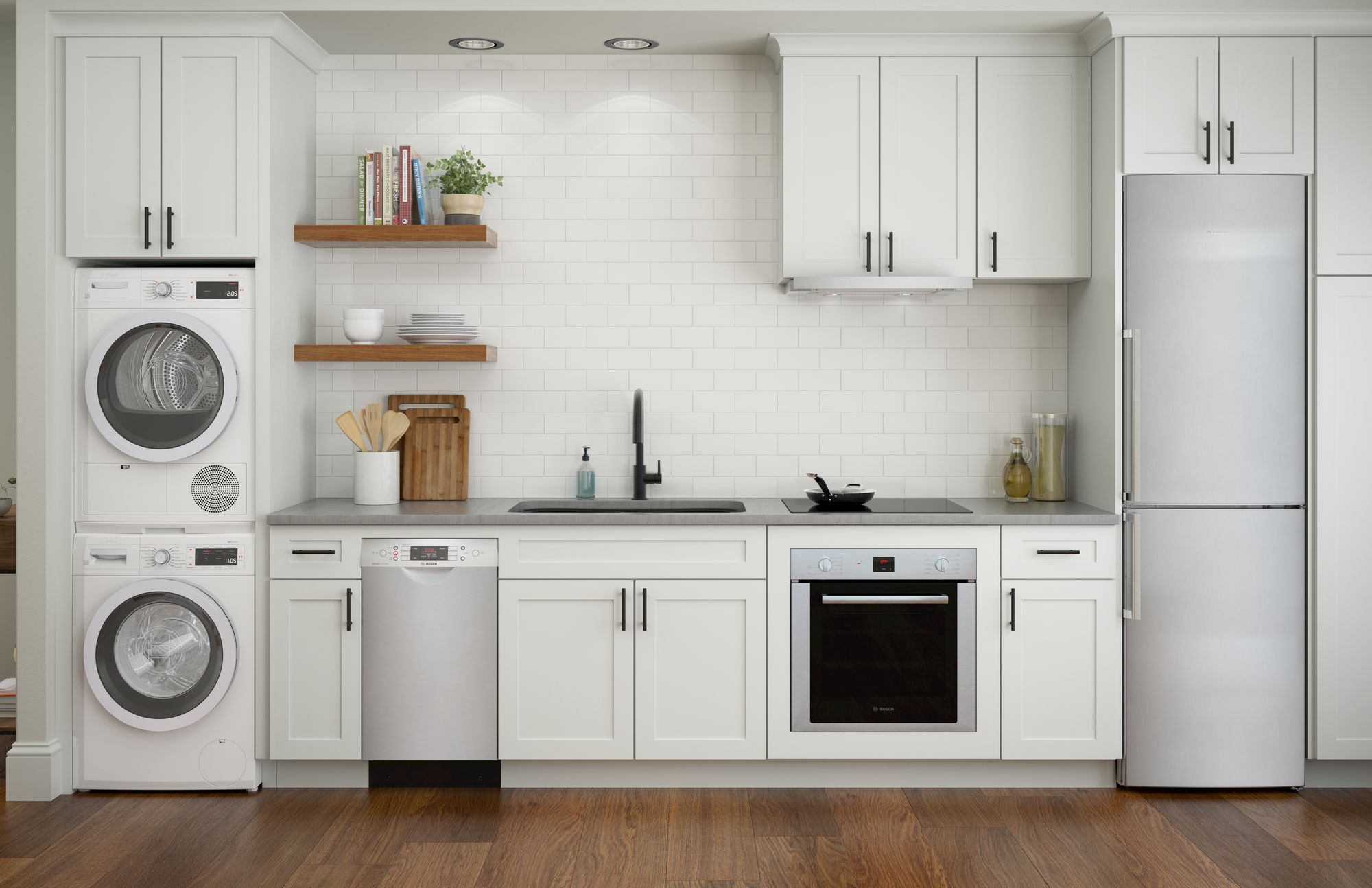 view of kitchen with small appliances