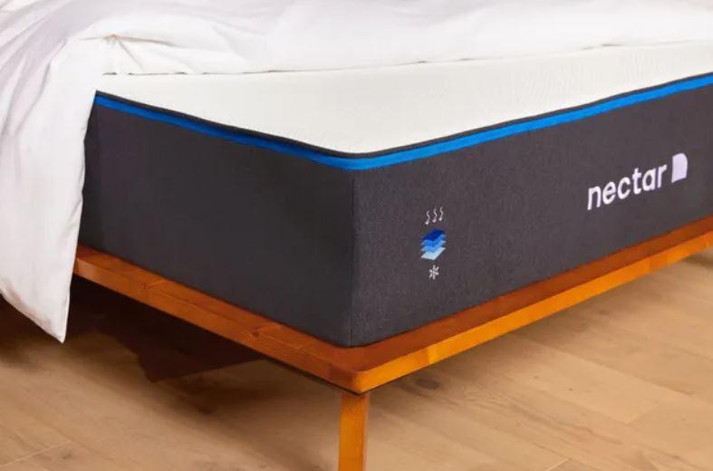 product shot of a Nectar mattress