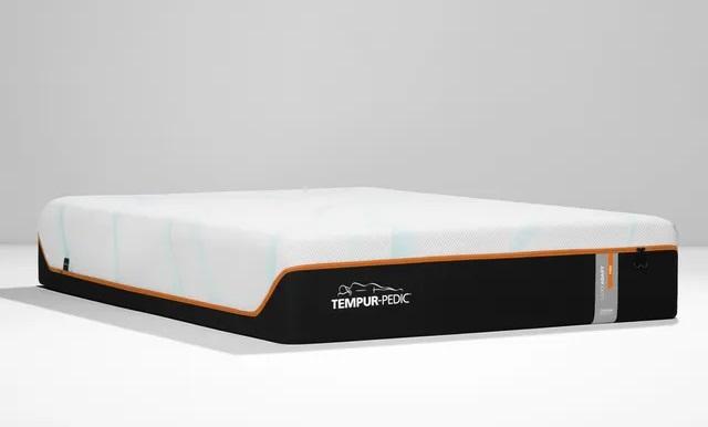 Front view of Tempur-Pedic 10740150 memory foam mattress