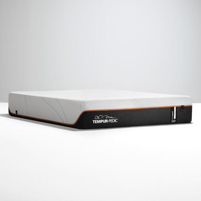 Stock photo of a twin sized tempur pedic mattress.