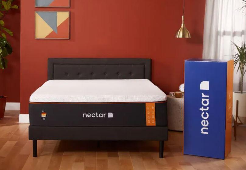 Nectar mattress with Nectar box