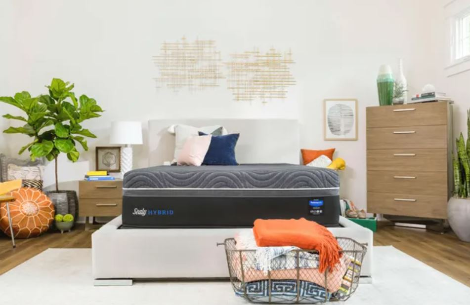 Sealy silver mattress