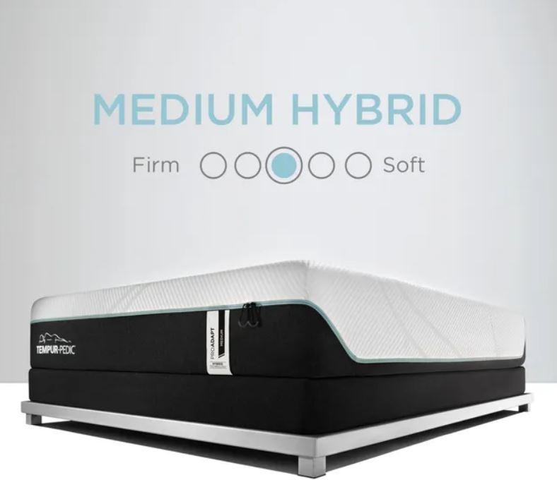 Tempur mattress firmness level chart