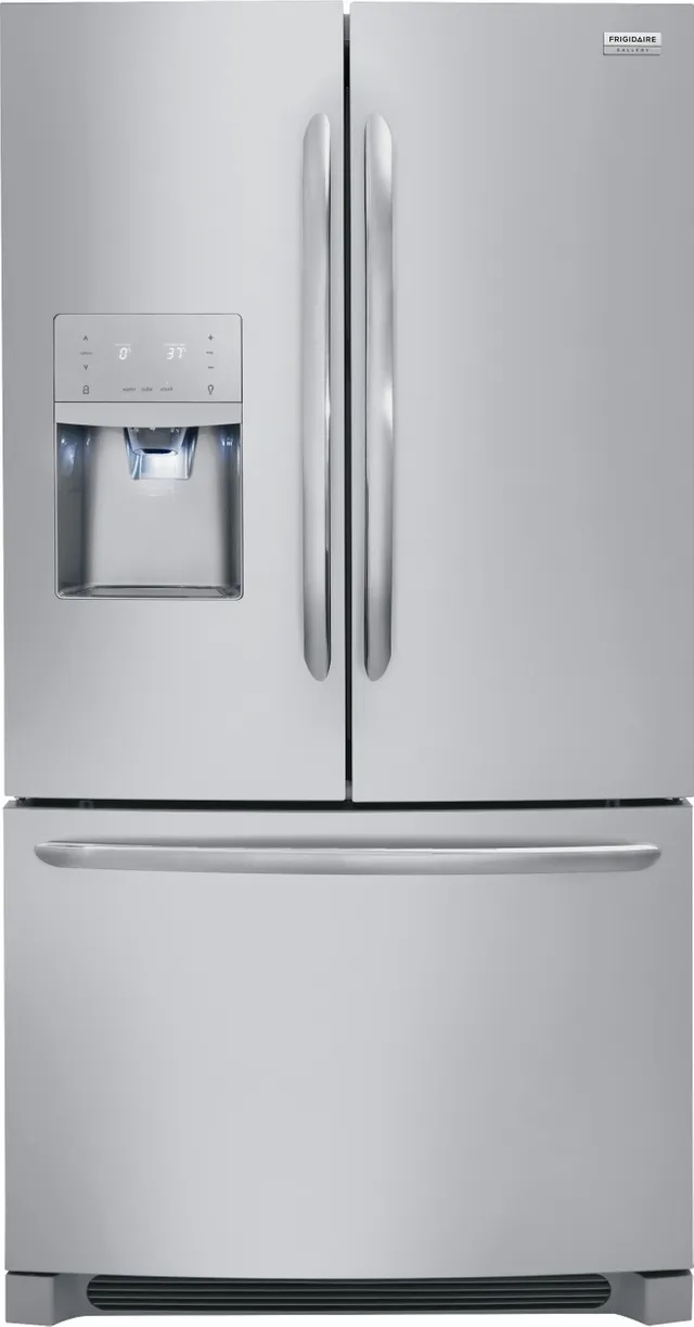 Front view of Frigidaire FGHB2868TF French door refrigerator