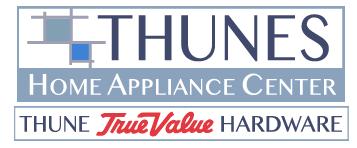 Thunes Home Appliance Center