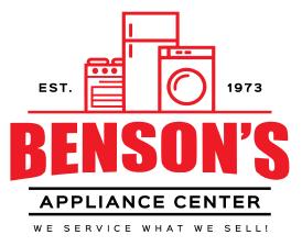 Benson's Appliance Center