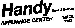 Handy Appliance Center