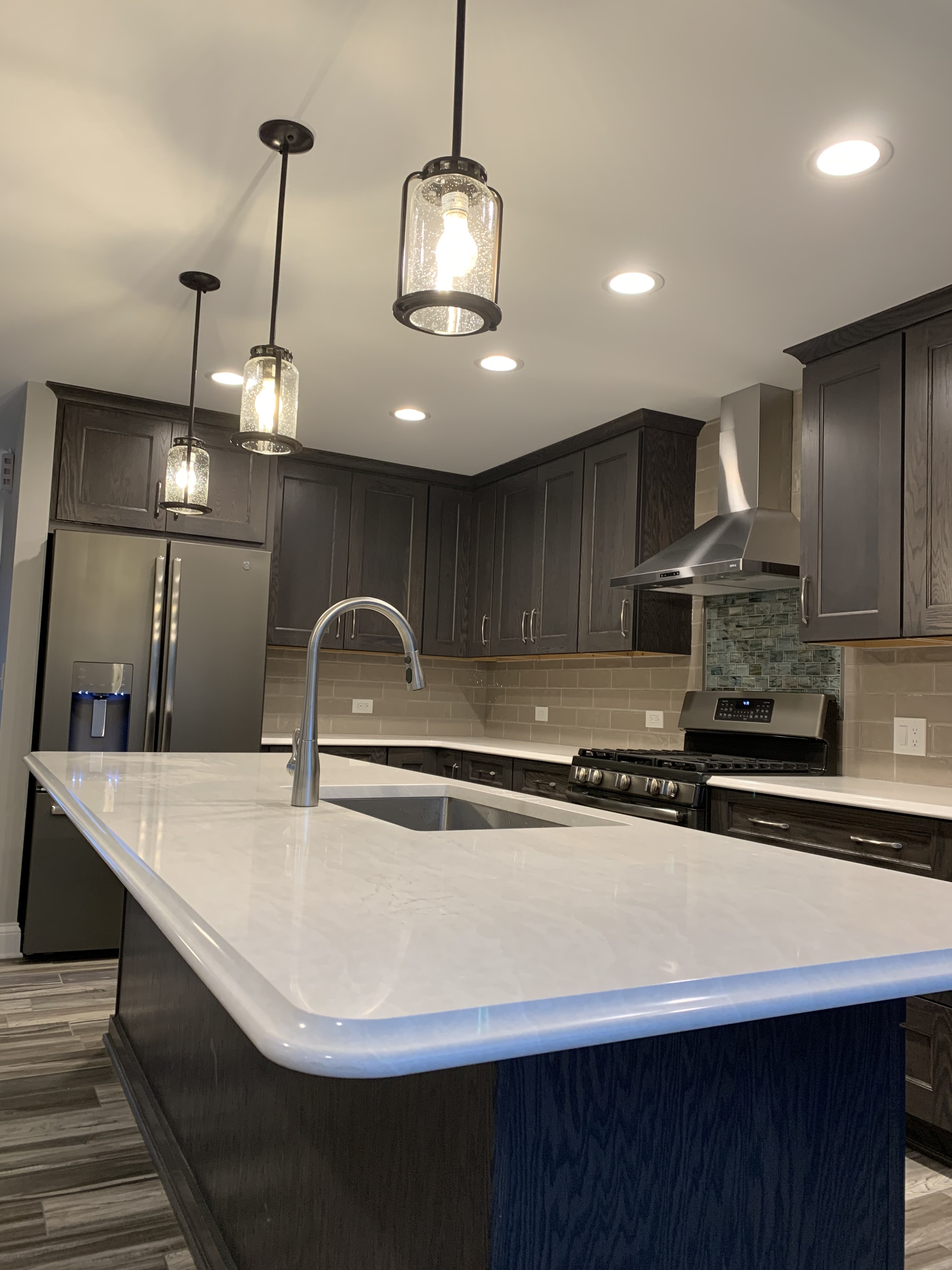 Kitchen Inspiration Series Ge Slate Kitchen In Antioch Il Grand Appliance And Tv