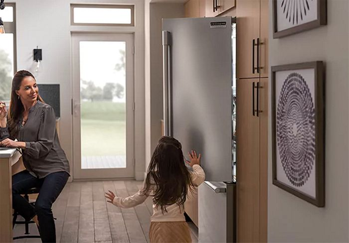 Frigidaire Smudge-Proof Stainless Steel