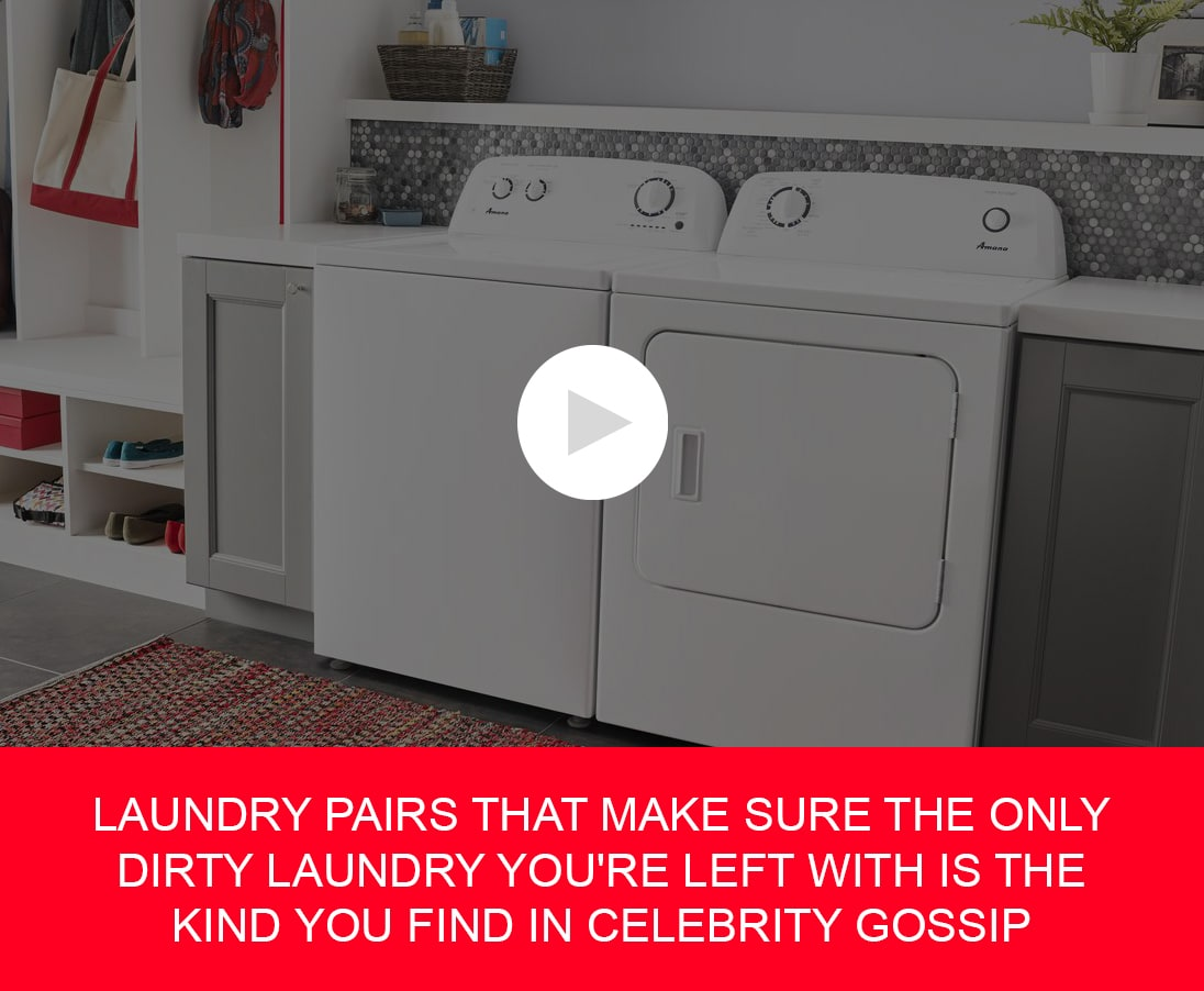 Laundry pairs that make sure the only dirty laundry you're left with is the kind you find in celebrity gossip