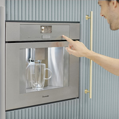 Thermador built-in coffee machine image