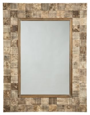 Signature Design by Ashley® Ivanna Brown Accent Mirror-A8010142