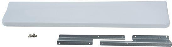 JennAir® Slide In Range Backsplash-White-UXA9107AAW