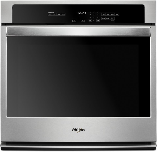 """Whirlpool® 30"""" Stainless Steel Electric Single Oven Built In-WOS31ES0JS"""