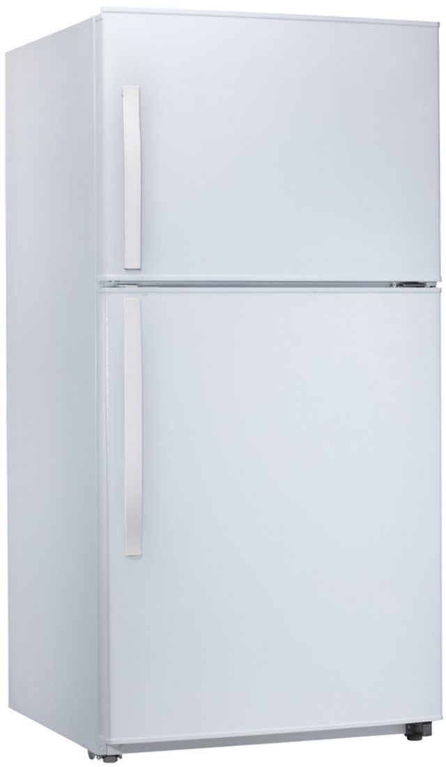 Midea® 21 Cu. Ft. White Top Mount Refrigerator-WHD-774FWE1