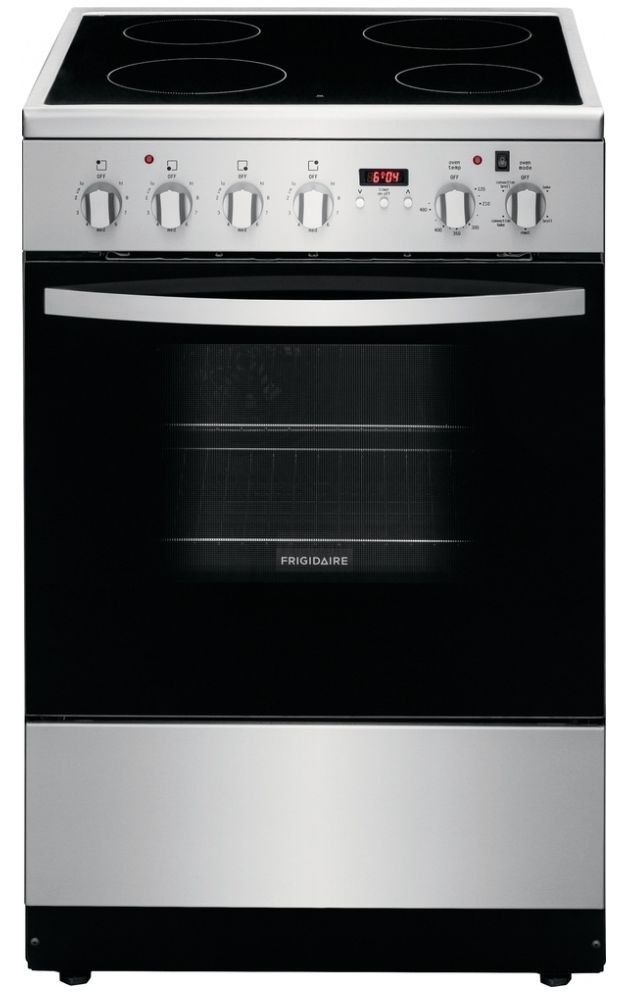 """Frigidaire® 24"""" Stainless Steel Freestanding Electric Range-CFEF2422RS"""