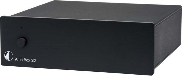 Pro-Ject Amp Box S2 Black Amplifier-Amp Box S2-BL