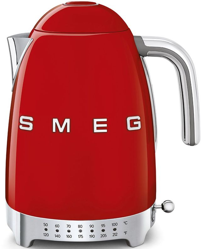 Smeg 50's Retro Style Aesthetic Red Electric Kettle-KLF04RDUS