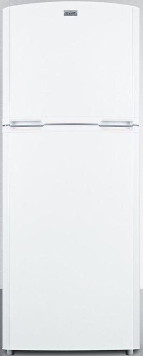 Summit® 12.89 Cu. Ft. White Counter Depth Top Freezer Refrigerator-FF1427W