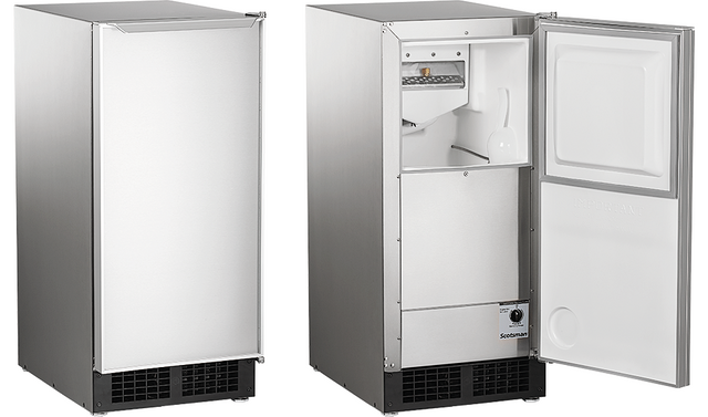 Scotsman® Legacy Gourmet Cuber Ice Maker-Stainless Steel-DCE33PA-1SSD