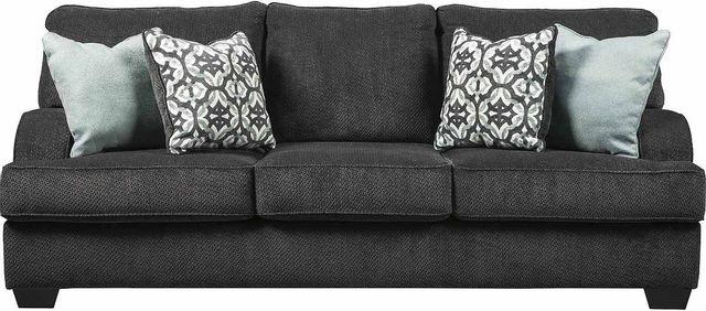 Benchcraft® Charenton Charcoal Queen Sofa Sleeper-1410139