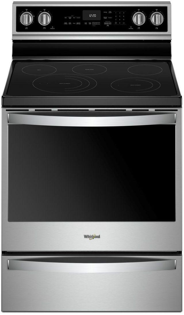 "Whirlpool® 30"" Freestanding Electric Range-Fingerprint Resistant Stainless Steel-WFE975H0HZ"