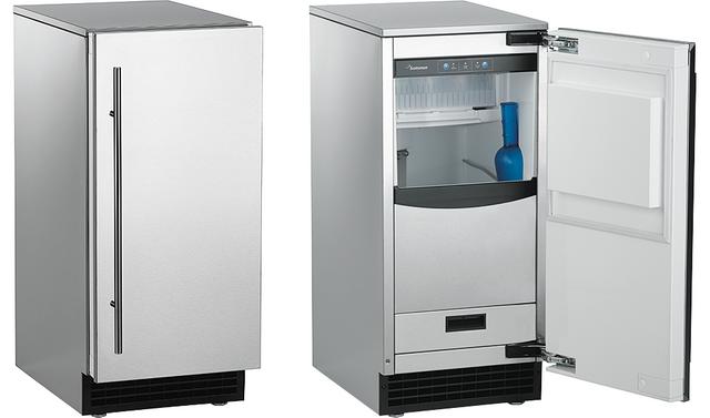 Scotsman® Brilliance® Nugget Ice Machine-Stainless Steel-SCN60GA-1SU