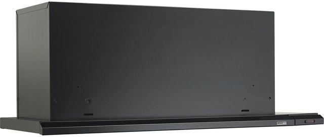"Broan® Elite 15000 Series Silhouette® 30"" Black Slide Out Under Cabinet Range Hood-153023"