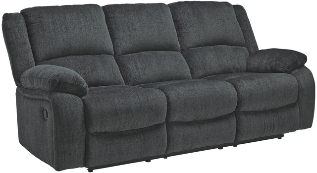 Canapé inclinable Draycoll en tissu gris Signature Design by Ashley®-7650488