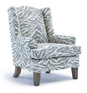 Best Home Furnishings Amelia Wing Chair-0190R