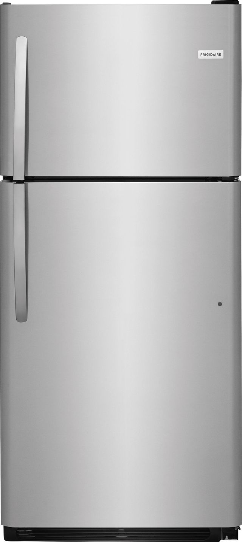 Frigidaire® 20.4 Cu. Ft. Stainless Steel Top Freezer Refrigerator-FFTR2021TS