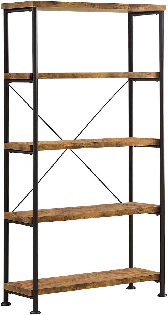 Coaster® Analiese Antique Nutmeg Open Bookcase-801542