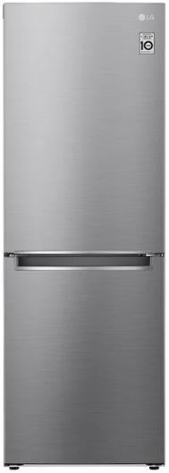 Réfrigérateur à congélateur inférieur à profondeur de comptoir de 24 po LG® de 10,8 pi³ - Argent platine-LRDNC1004V