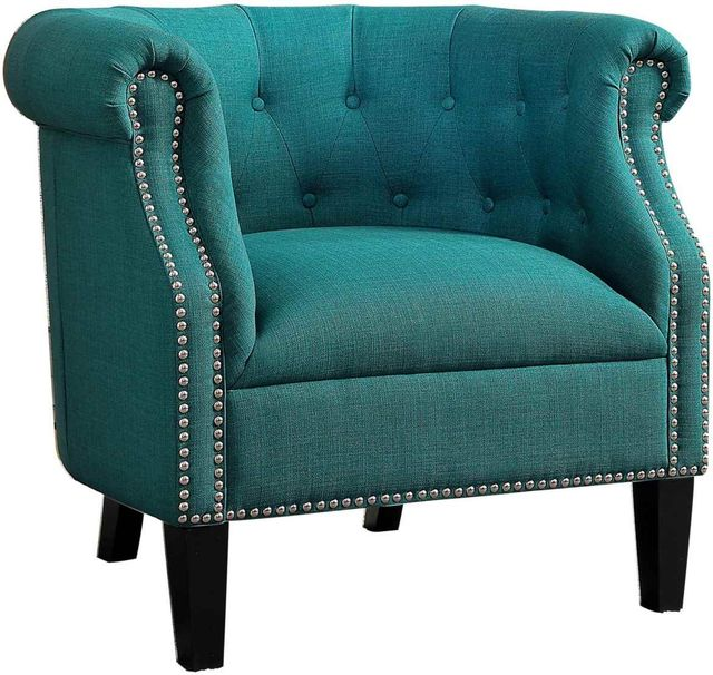 Karlock Teal Accent Chair-1220F3S