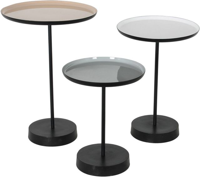 Table d'appoint ronde Stepping Stone, multicolore, Renwil®-TA111