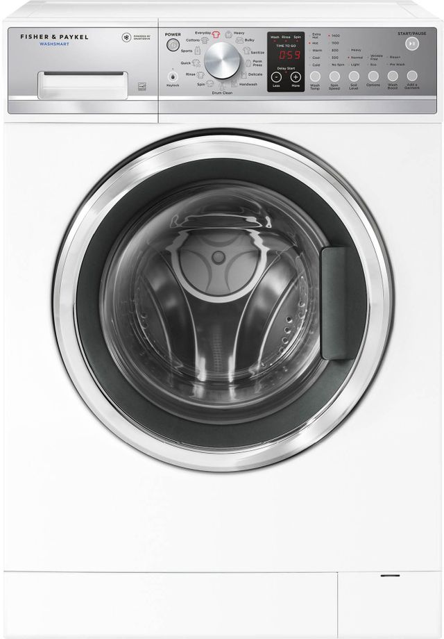 Fisher Paykel WashSmart™ Front Load Washer-White-WH2424P1