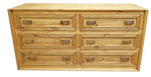 Million Dollar Rustic Monterrey Bedroom Dresser-02-1-10-17-D