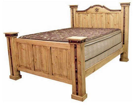 Million Dollar Rustic Queen Alamo Iron Bed-02-1-10-22-50