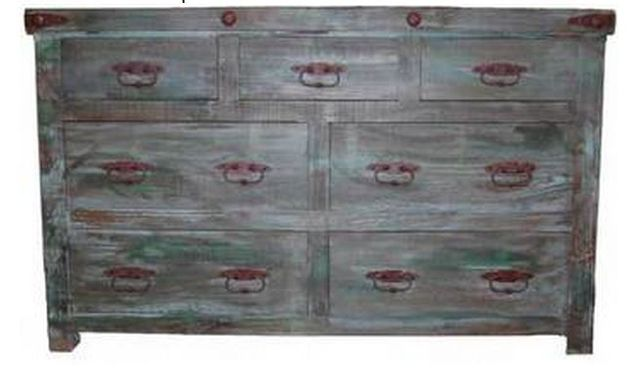 Million Dollar Rustic Painted Reclaimed Bedroom Dresser-02-2-50-41-D