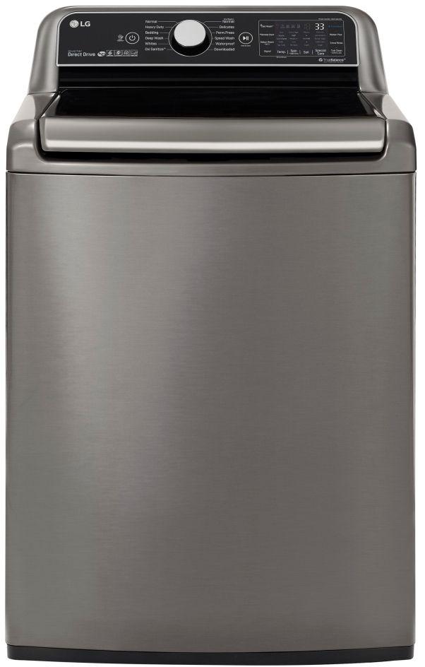 LG 5.5 Cu. Ft. Graphite Steel Top Load Washer-WT7800CV
