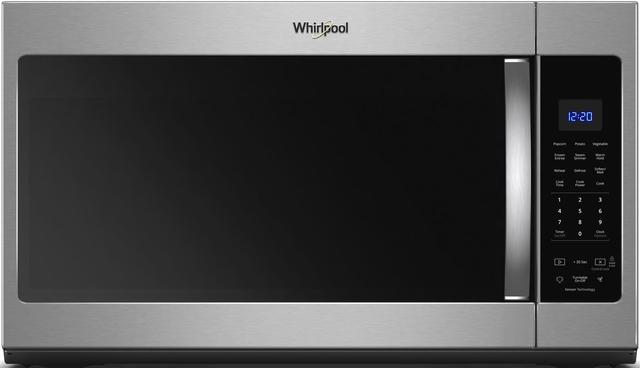 Whirlpool® Over the Range Microwave-Fingerprint Resistant Stainless Steel-WMH32519HZ