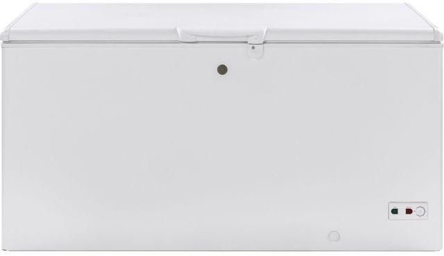 GE® 15.7 Cu. Ft. Chest Freezer-White-FCM16SLWW