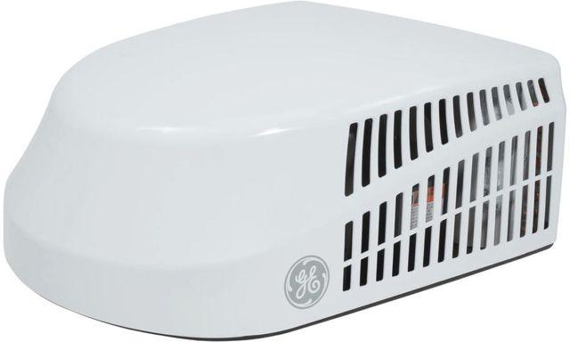 GE® 15000 BTU's White Exterior RV Air Conditioner with Heat Pump-ARH15AACW