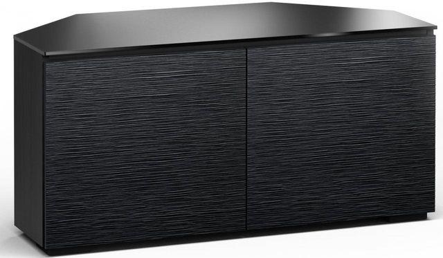 Salamander Designs® Chicago 221 CR Corner Cabinet-Textured Black Oak-C/CH221CR/BO