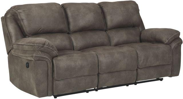 Benchcraft® Trementon Graphite Reclining Sofa-8090288