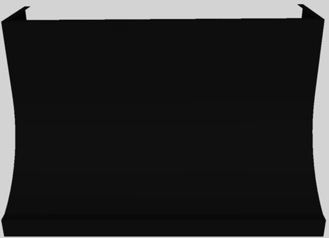"Vent-A-Hood® 48"" Wall Mounted Range Hood-Black-DAH30-448 BL"