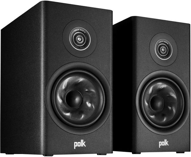 Polk Audio® R200 Black Bookshelf Speakers (Pair)-300029-01-00-005