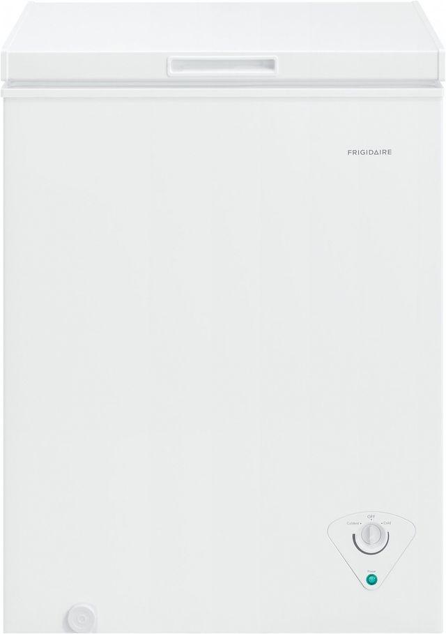 Frigidaire® 5.0 Cu. Ft. White Chest Freezer-FFCS0522AW