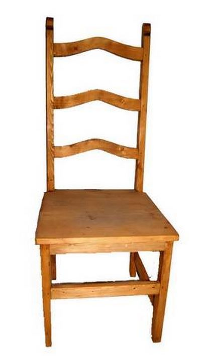Million Dollar Rustic Dining Room Side Chair-03-1-10-03-1